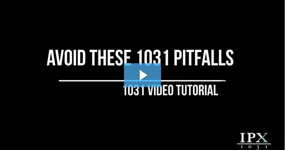 Avoid These 1031 Pitfalls video