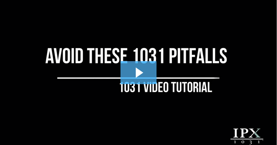 Avoid These 1031 Pitfalls video